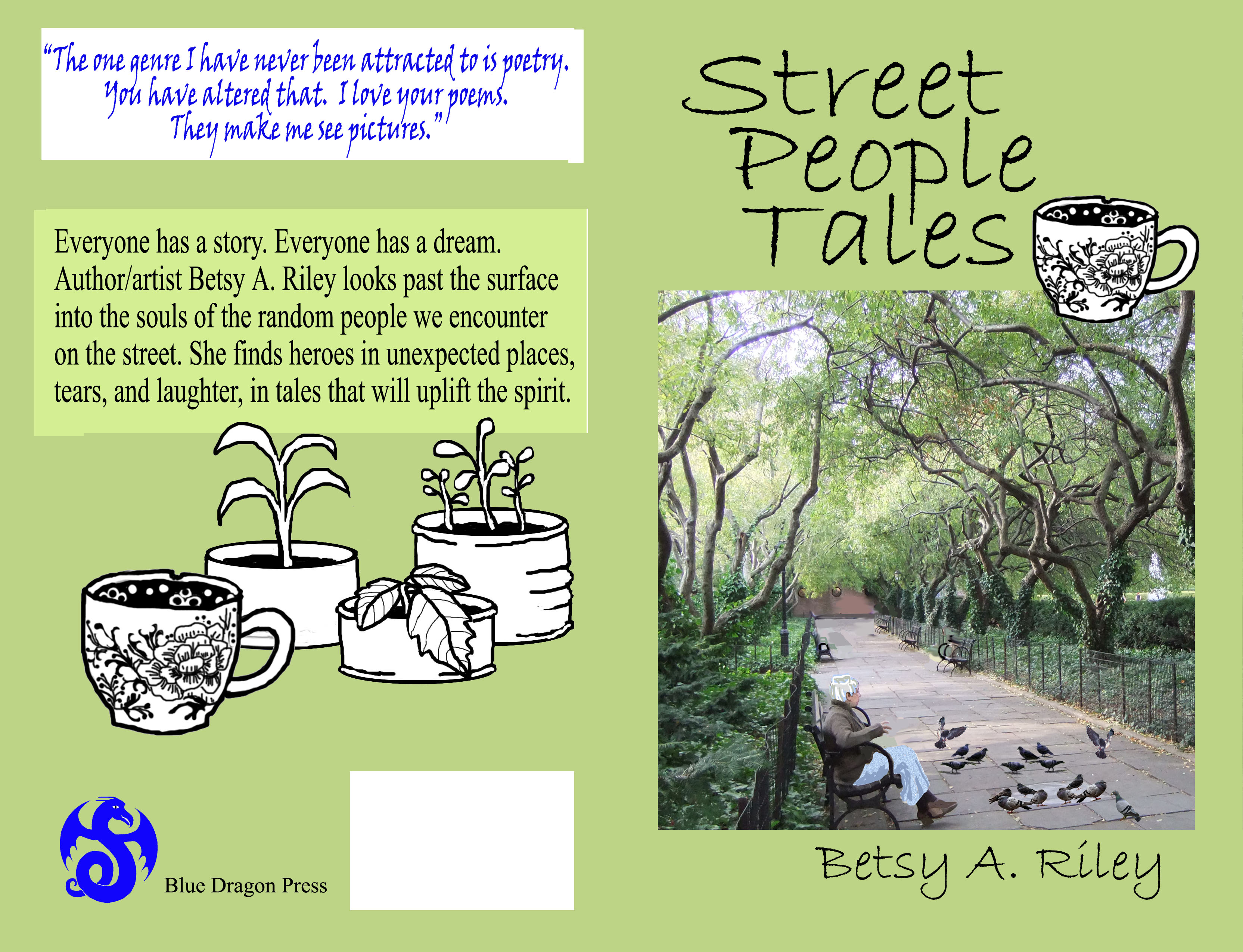 Cover design of Street People Tales